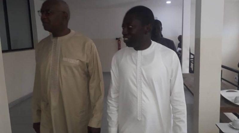 Visite du Ministre de l'Eau et de l'Assainissement Monsieur Serigne Mbaye THIAM au CNDEA