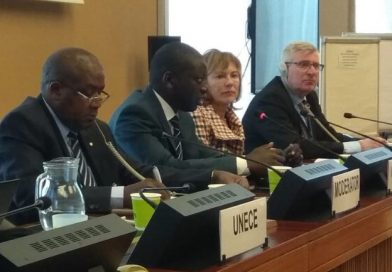 M. Niokhor Ndour co-président de Groupe de travail dans le cadre de la Convention sur l'Eau